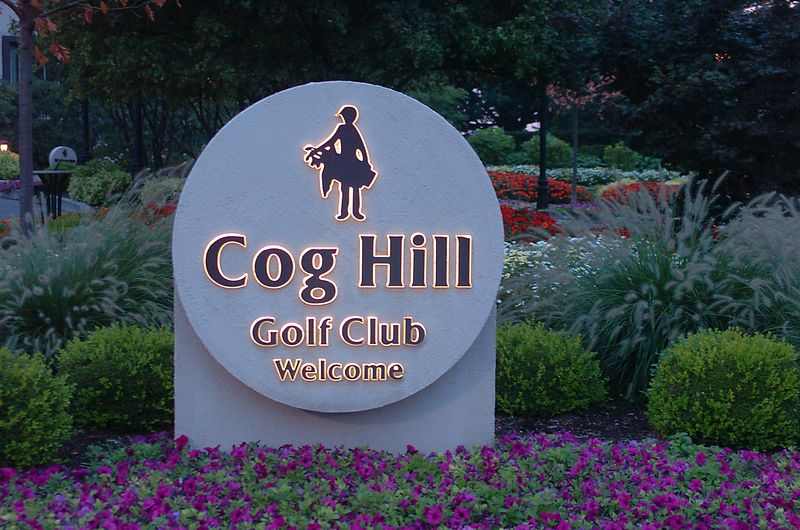 The Beautiful Cog Hill Golf Club in Lemont, IL