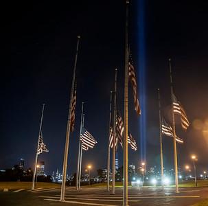 2020 9/11 Tribute in Light