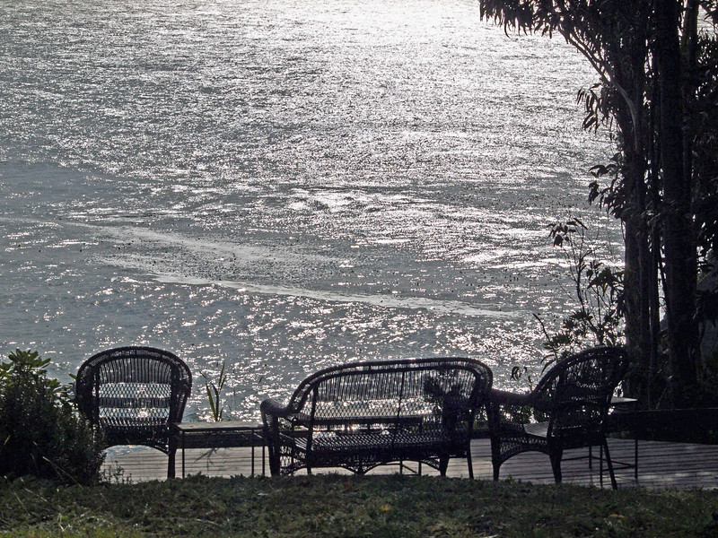 Seating area at Whale Watch Inn