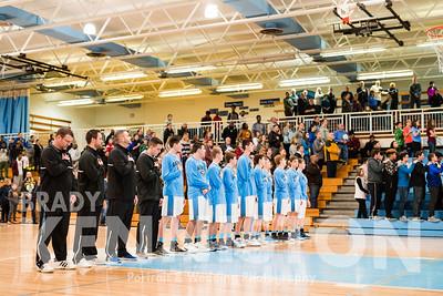 1-13-18 Garber Varsity Basketball