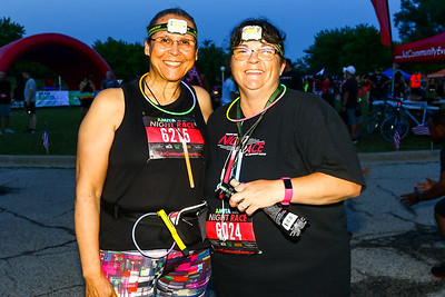 The Glo Run Night Race 10K & 5K - Hoffman Estates 2019
