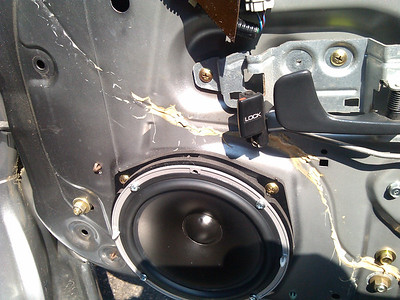 2000 Honda S2000 Front Door Speaker Installation - USA