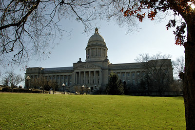 Frankfort Kentucky, USA. Capitol Building.