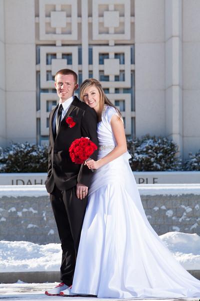 Tyler Shearer Photography Dustin & Michelle Wedding Idaho Falls Temple Rexburg Photographer-9910.jpg