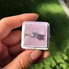 1.19ct Art Deco Carre Cut Diamond Solitaire 21