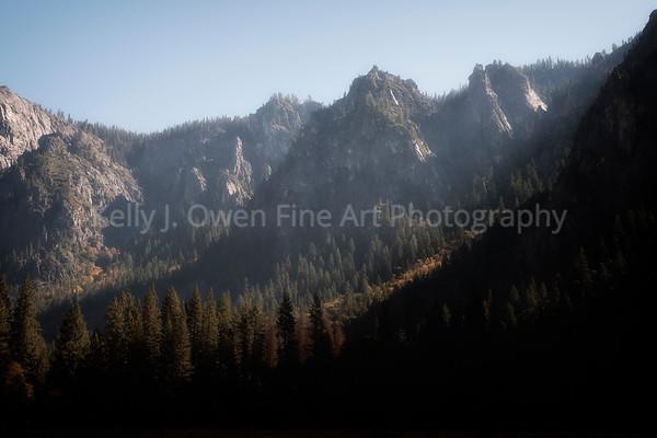 Facade of Abundance, Yosemite Valley