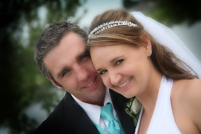 Randy and Chelle wedding 08/16/08 Arrow Springs Chapel