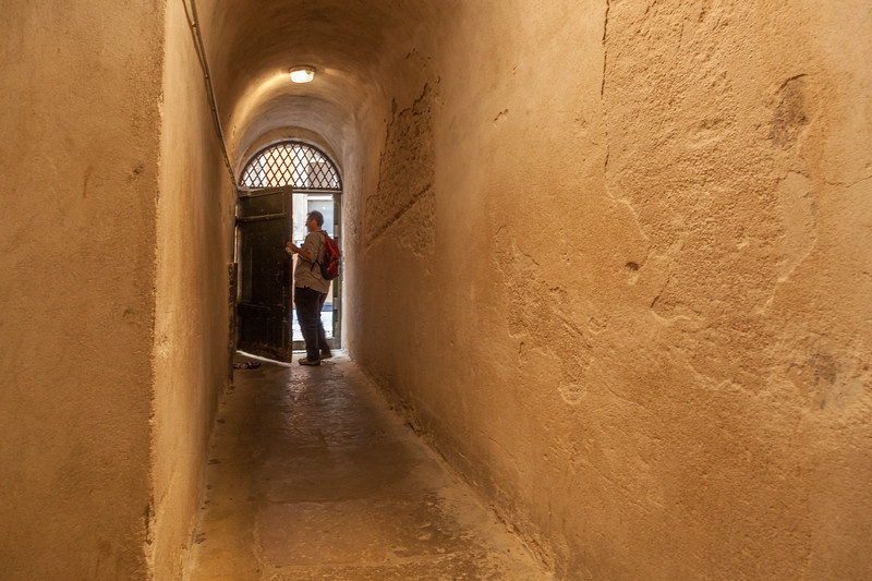Lyon has traboules: public passageways connecting streets. You need to know which doorways to open to enter a traboule. Originally they were used to connect various silk works.
