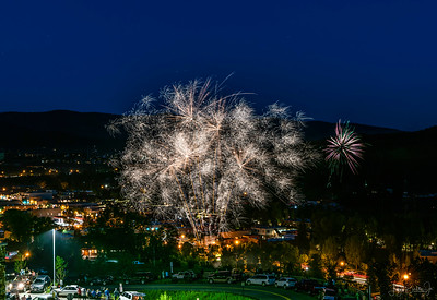 Fourth of July Fireworks - Steamboat Springs 7-4-19