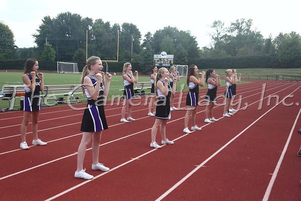 CHCA 2013 MS Cheer vs Cinci Academy vs 09.18