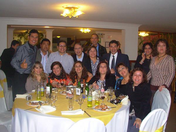 Fiesta de Promociones  - Federico Villarreal - Lima  2011