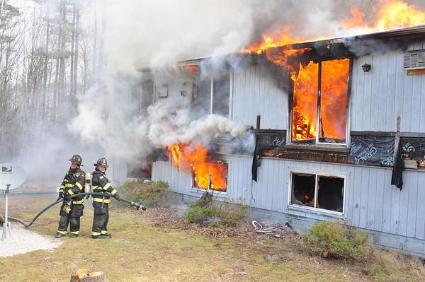 Danville Training Burn