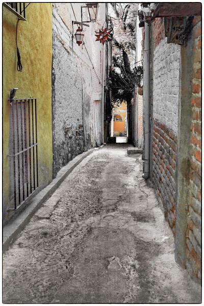 Alley in San Miguel de Allende