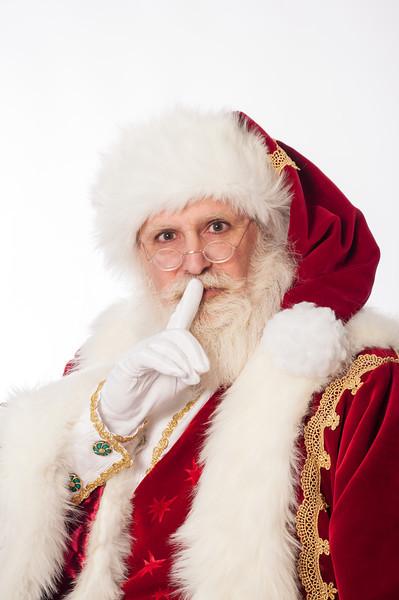 2013 12 19: Santa, Kathryn Nordstrom Studio