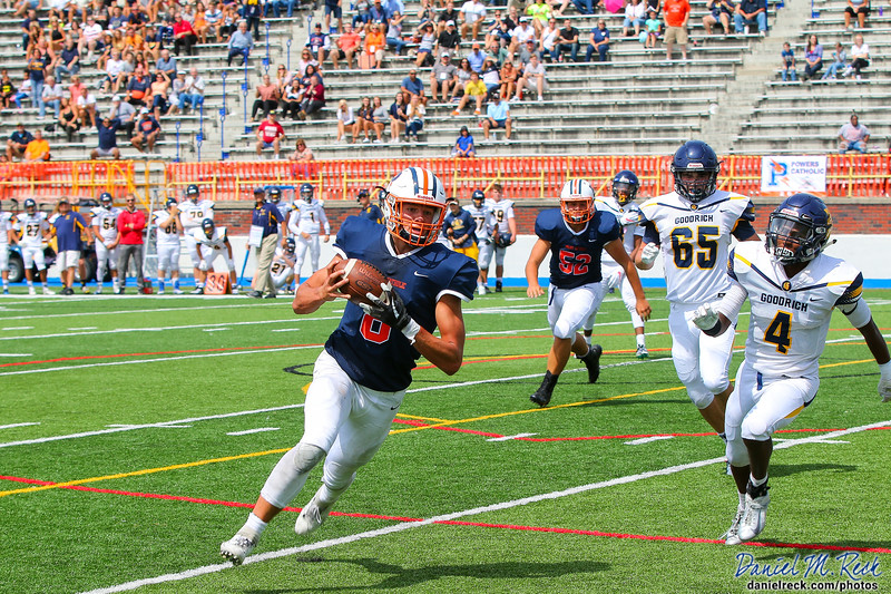 Chargers Football vs. Goodrich at the Vehicle City Gridiron Classic