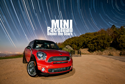 MINI Paceman under the Stars