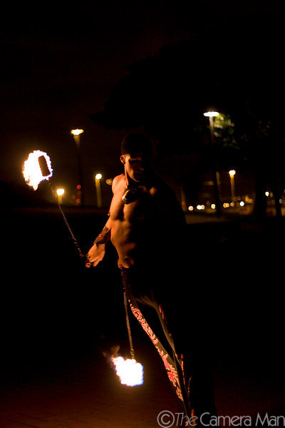 The Poi Fire Dancers