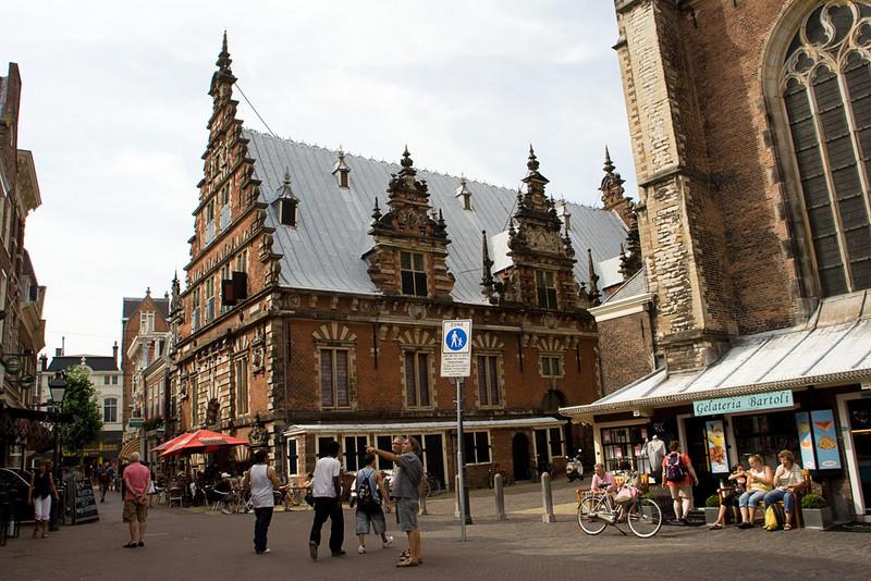Grote Kerk, market square