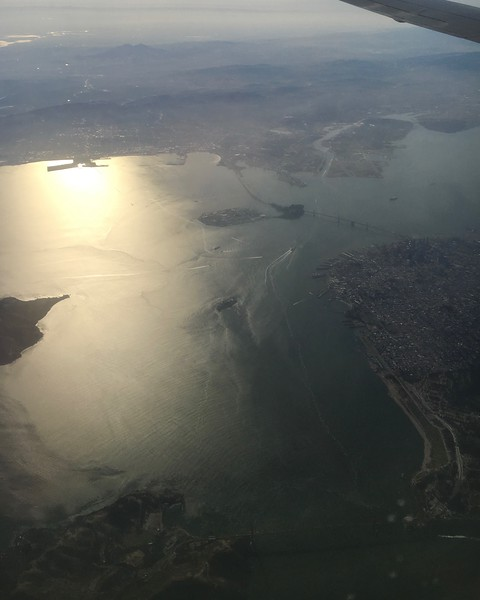 Overflight of the San Francisco Bay
