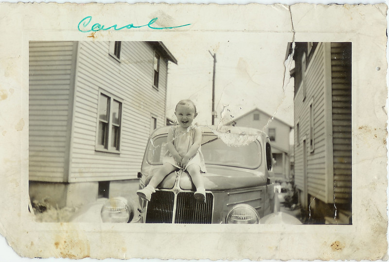 Today this would be a very classic car.  It may have been new when this photo was taken!