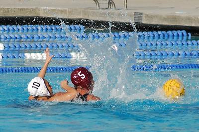 CIF SS Girls Water Polo D2 Finals 2009 - Laguna Beach High School vs Montebello 2/28/09. Final score 9 to 5. LBHS vs MHS. Photos by Allen Lorentzen.