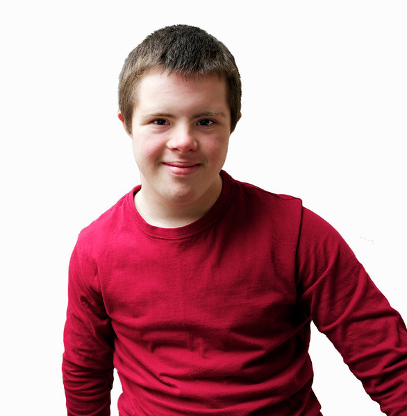 boy, teen, disability, disabled, people, person, one, portrait, downs,