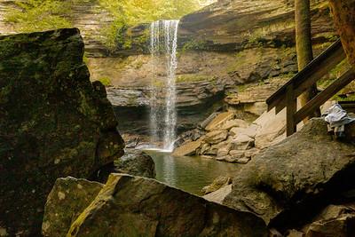 Greeter Falls @ South Cumberland State Park