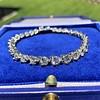 10.50ctw Round Brilliant Diamond Tennis Bracelet 4