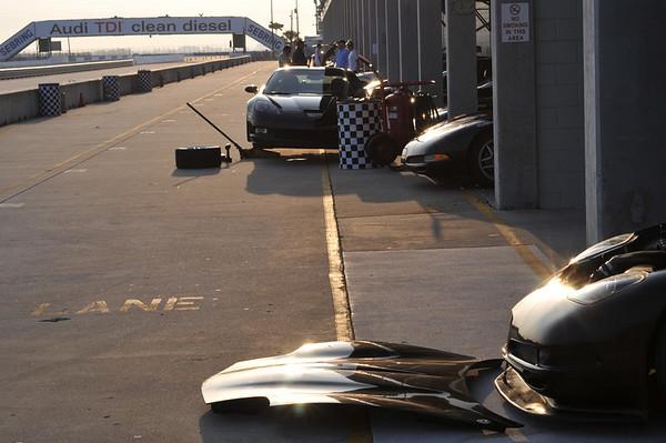 Corvette Racing School in Sebring
