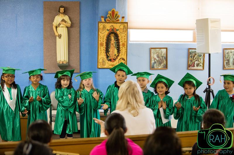 Cathedral School Kindergarten Graduation
