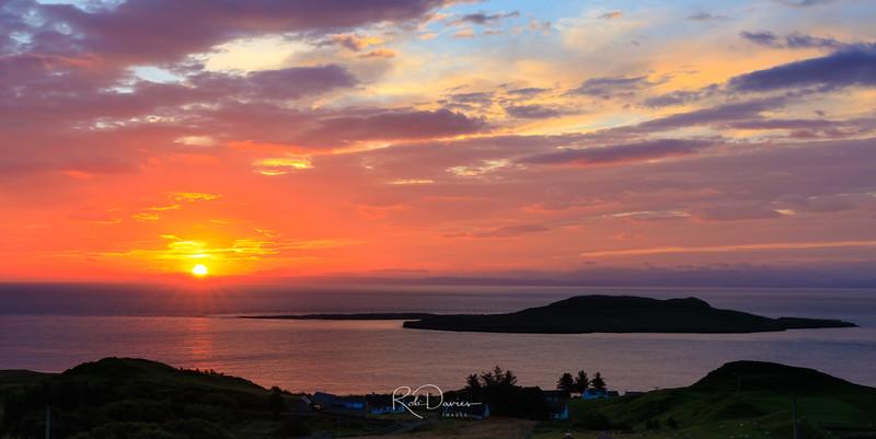 Sunrise on Skye