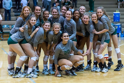 Volleyball State Semifinal October 28, 2015