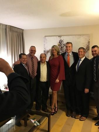 Todd Baxter election night  Nov. 7 2017  swearing in Jan 2, 2018
