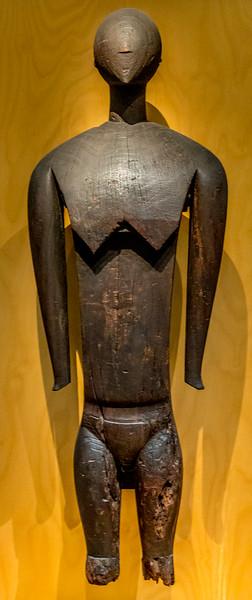 «Kave», eine Göttin aus den «Caroline Islands» im «Auckland War Memorial Museum»