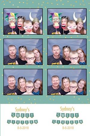 Sydney's Sweet Sixteen