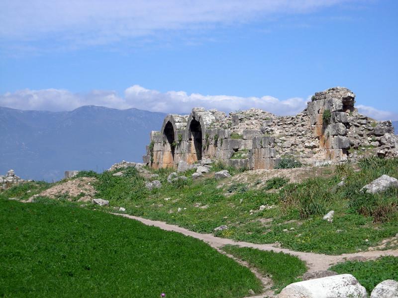 ruins at Apamea