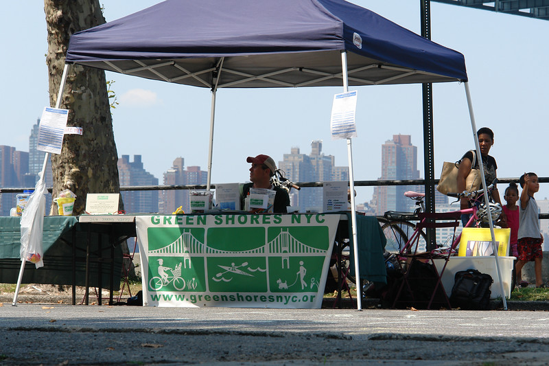 ASTORIA WATER WALK Volunteers and Participating Organizations GREEN SHORES NYC