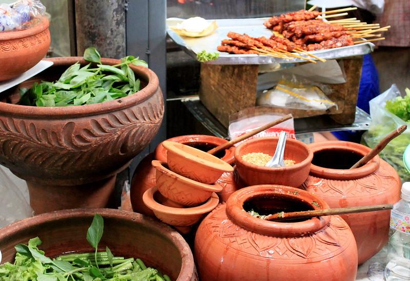 An Isaan (NE Thailand) food scene