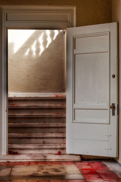 Doorway, Villa Montalvo, Saratoga, California, 2010