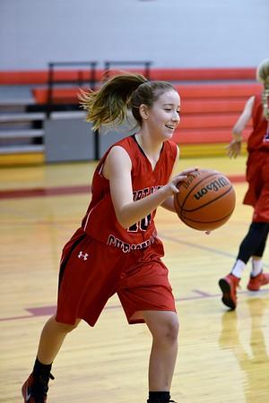 FWC Girls 8th basketball  Ponder Tournament  11-14-2015
