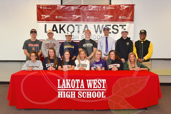 Lakota West Fall Signing Day 11.9.16