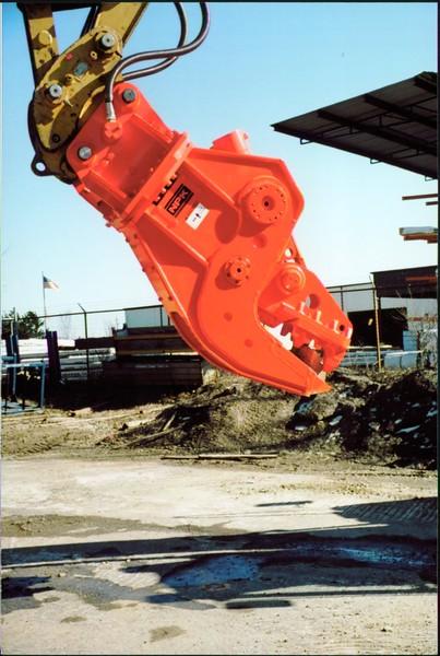 NPK U21J concrete pulverizer on Cat excavator at Carr Bros (9).JPG
