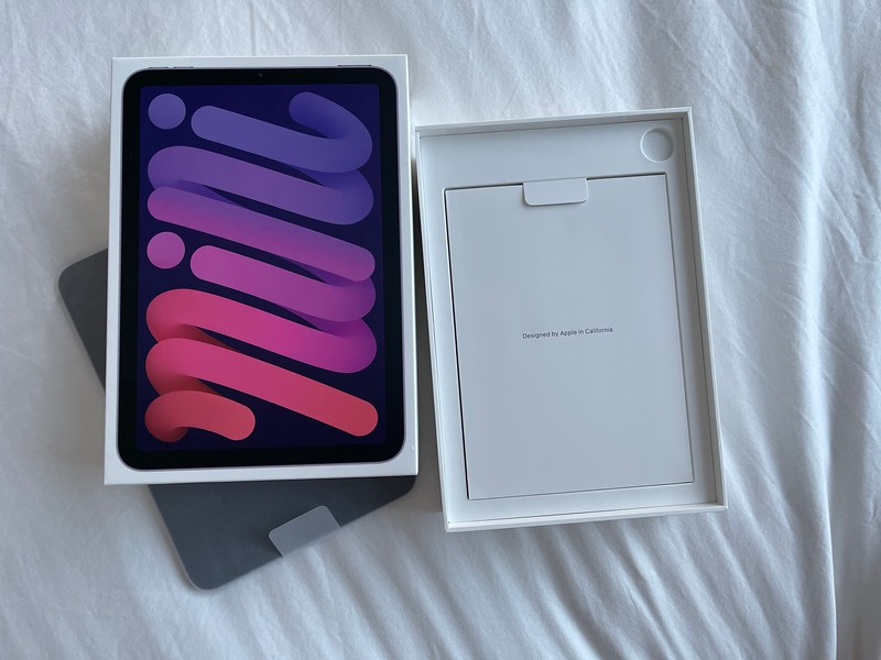 iPad mini 6 unboxing
