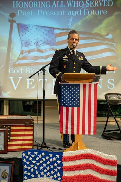 2018 Veterans Day Celebration