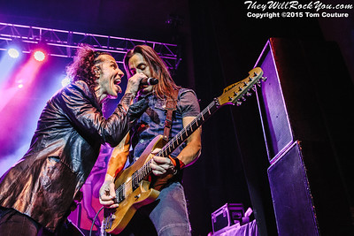 Extreme <br> January 17, 2015 <br> The State Theatre - Portland, ME <br> Photos by: Tom Couture