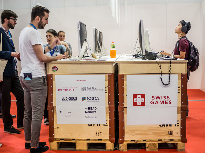 Switzerland at Gamescom 2015