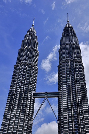 KLCC at different angles