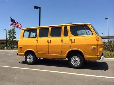 Morbank's '68 GMC Handi-Van