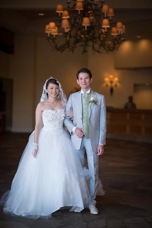 Congratulations Kahori & Jiseki!
