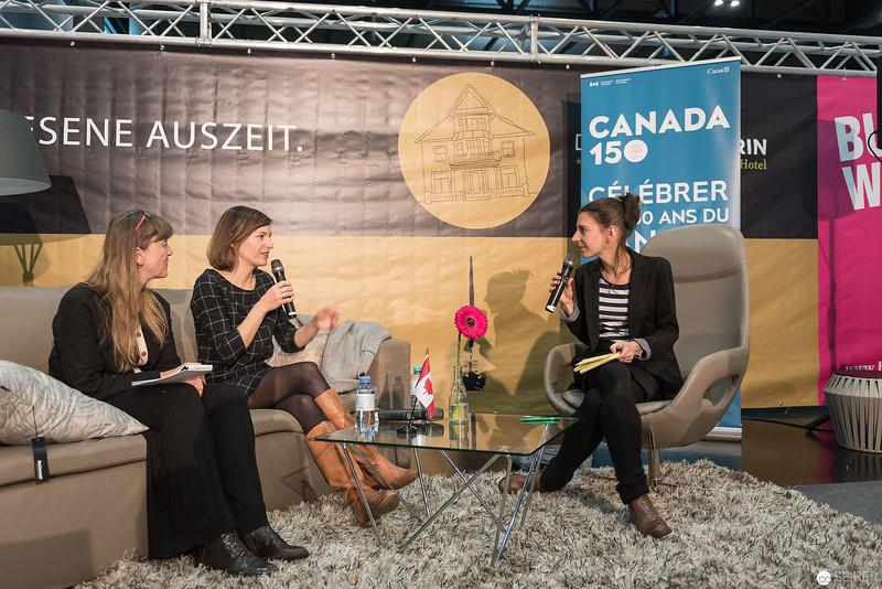 """Isabelle Arsenault BD - Comic Festival Wien mit """"Jane, der Fuchs und ich"""""""